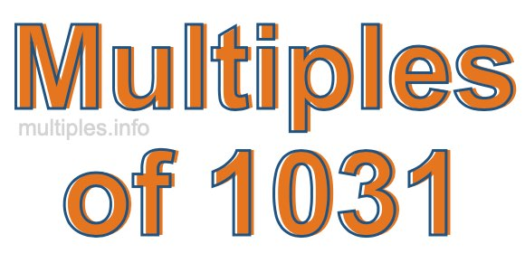 Multiples of 1031