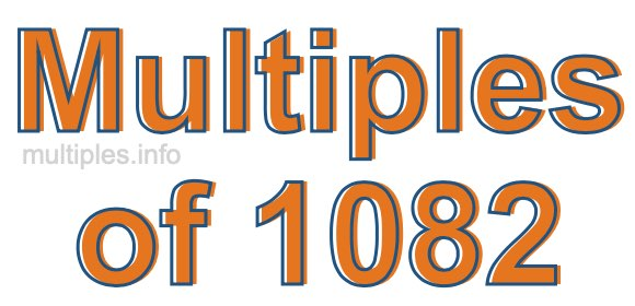 Multiples of 1082