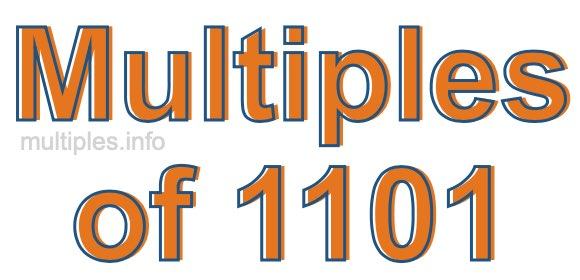 Multiples of 1101