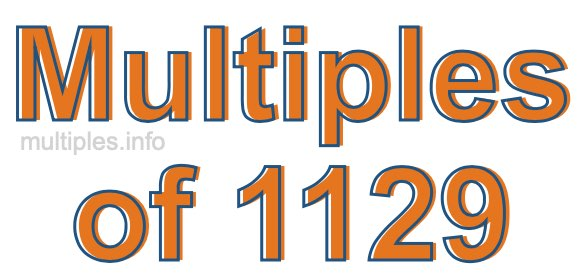 Multiples of 1129