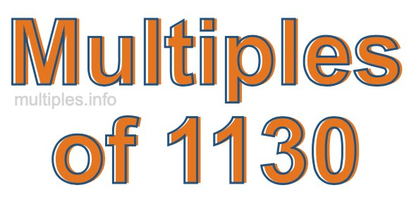 Multiples of 1130