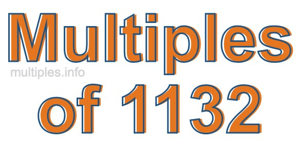 Multiples of 1132