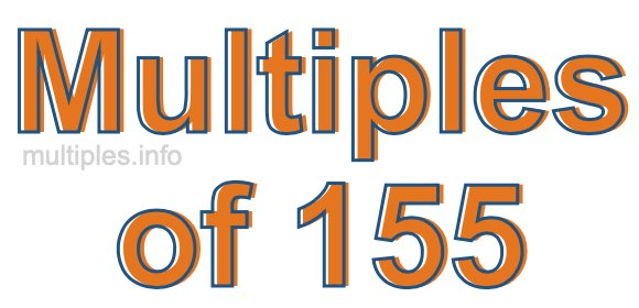 Multiples of 155