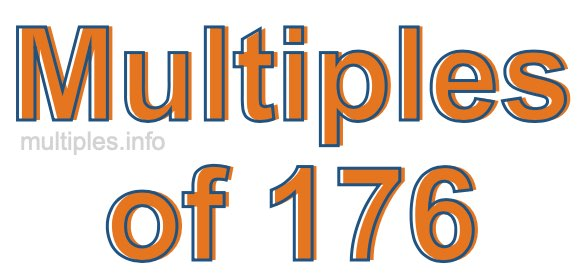 Multiples of 176