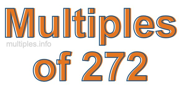 Multiples of 272