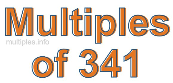 Multiples of 341