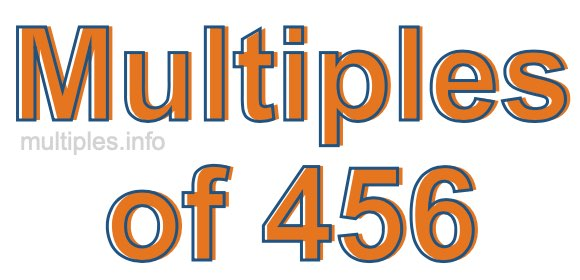 Multiples of 456