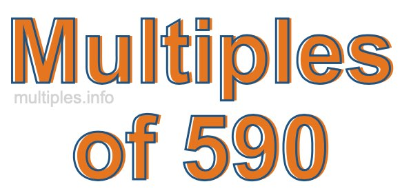 Multiples of 590