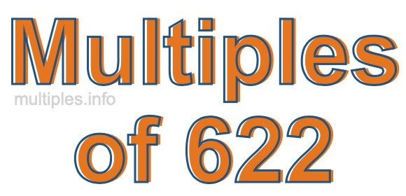 Multiples of 622
