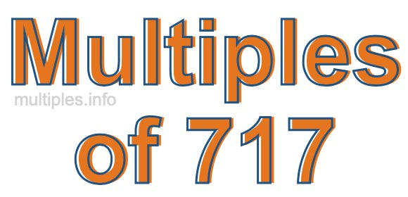 Multiples of 717