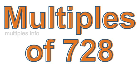 Multiples of 728