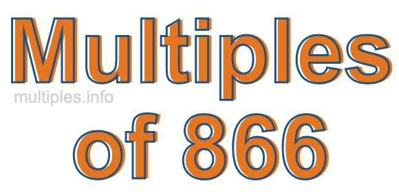 Multiples of 866
