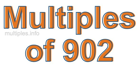 Multiples of 902
