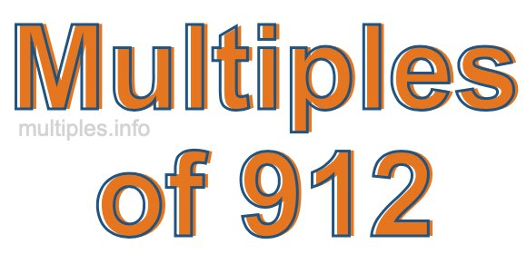 Multiples of 912