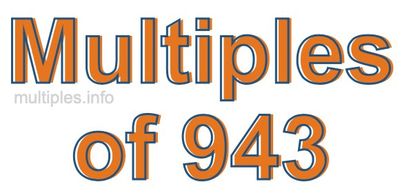 Multiples of 943