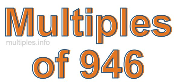 Multiples of 946